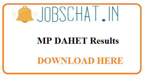 MP DAHET Results