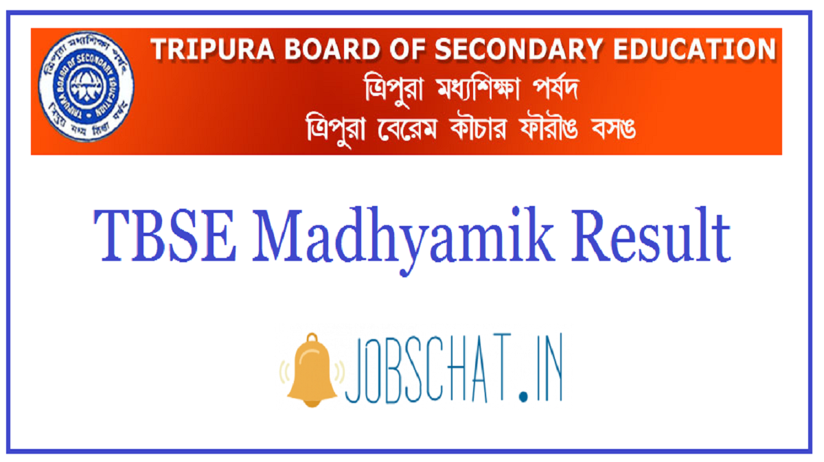 TBSE Madhyamik Result