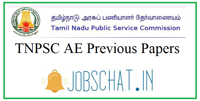 TNPSC AE Previous Papers