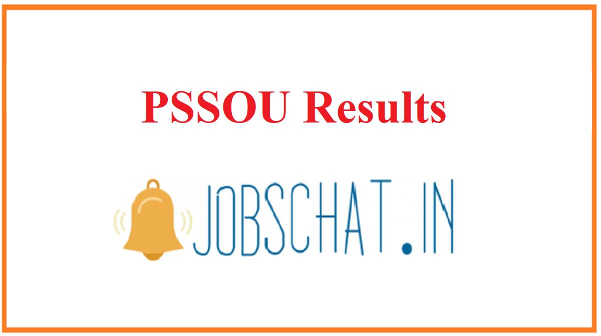 PSSOU Results