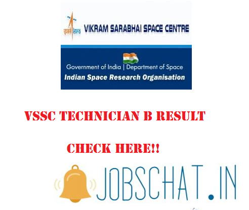 VSSC Technician B Result
