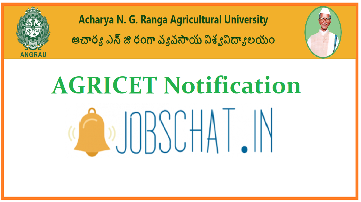 AGRICET Notification