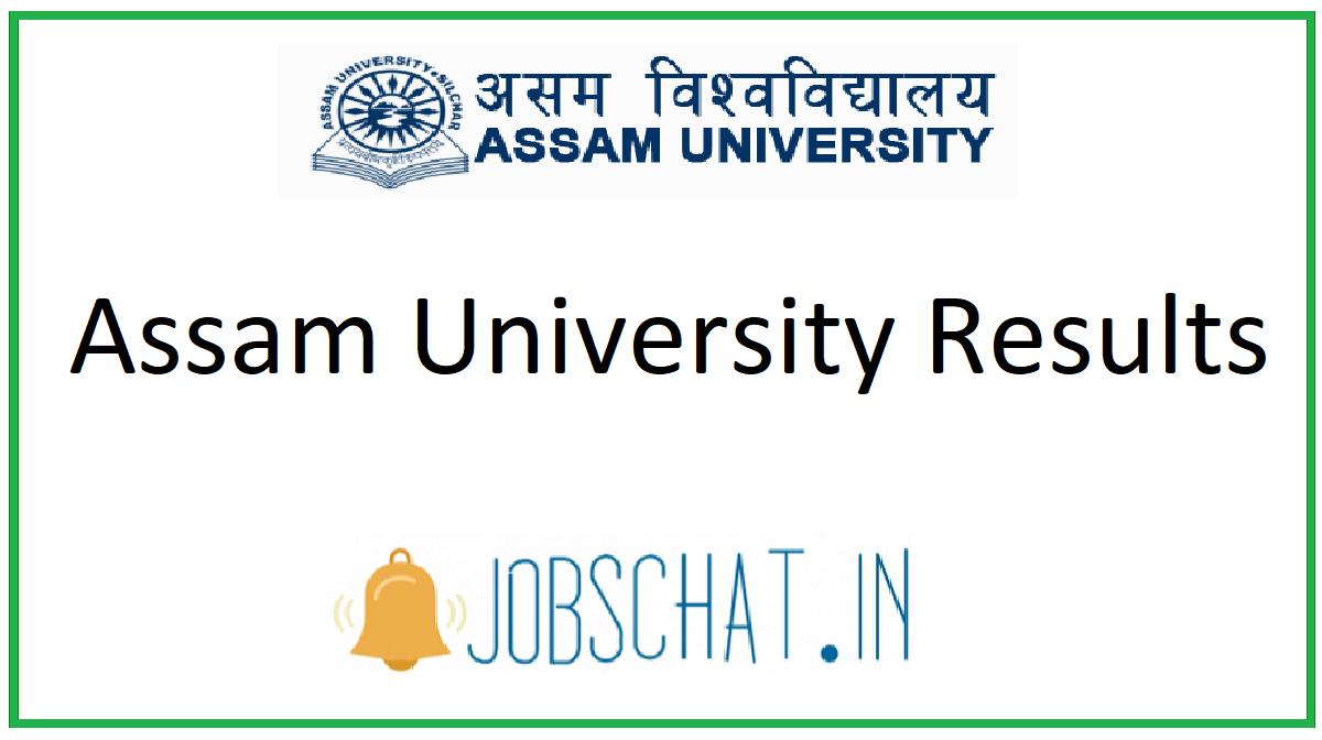 Assam University Results