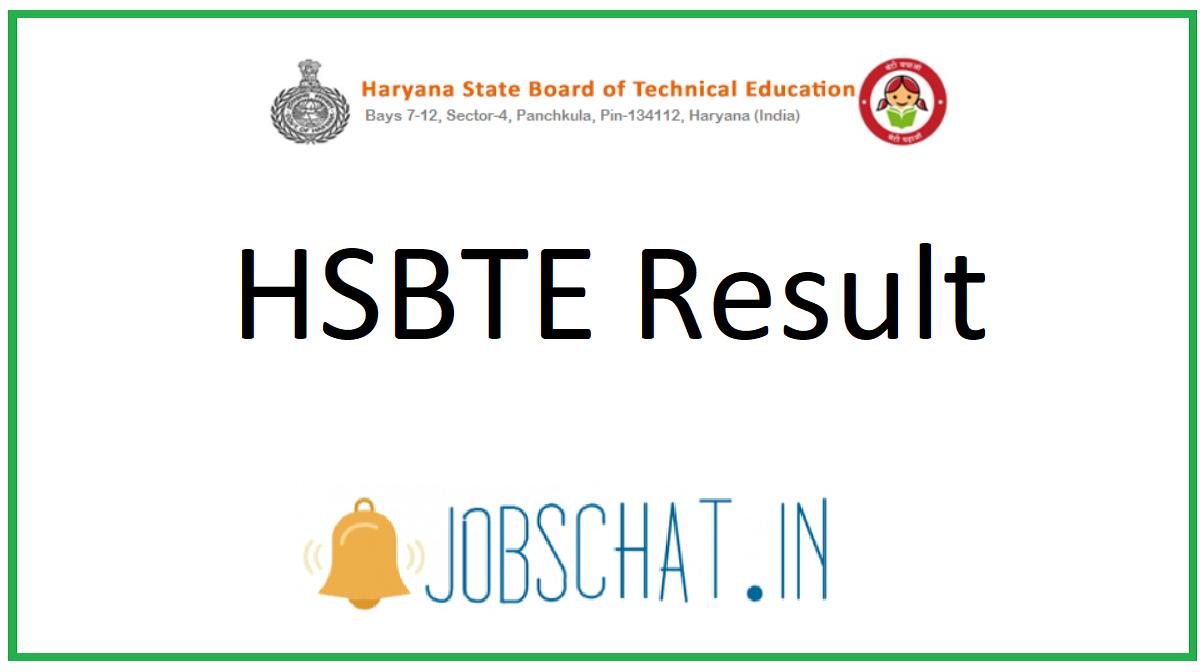 HSBTE Result