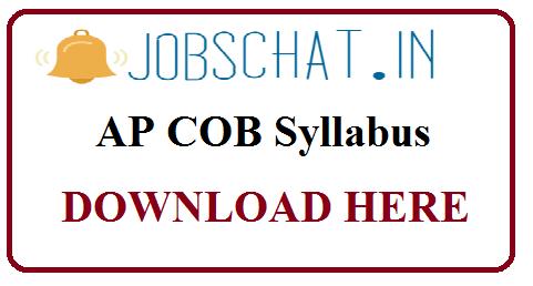 AP COB Syllabus