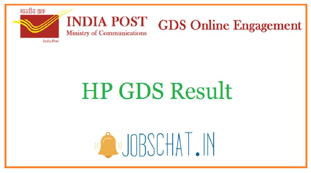 HP GDS Result
