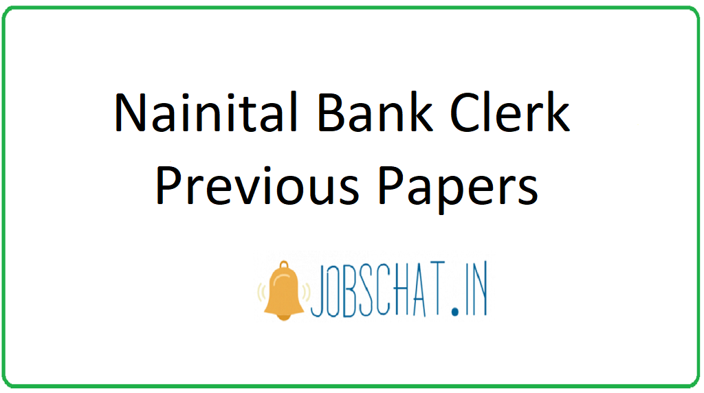 Nainital Bank Clerk Previous Papers