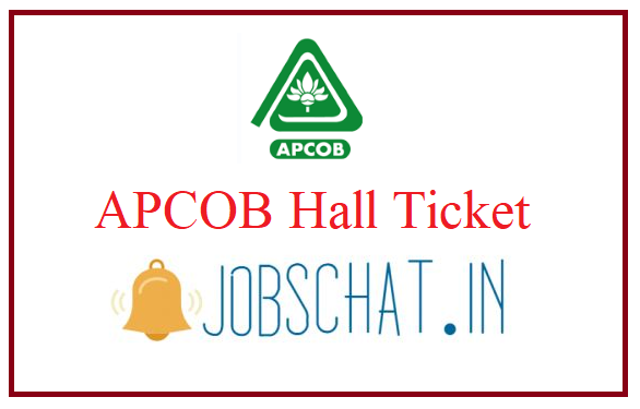 APCOB Hall Ticket