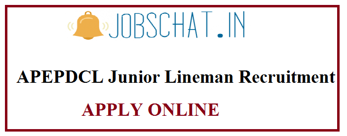 APEPDCL Junior Lineman Recruitment