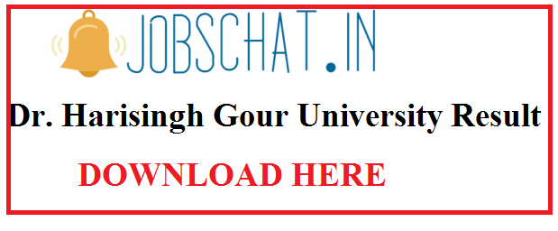 Dr.Harisingh Gour University Result