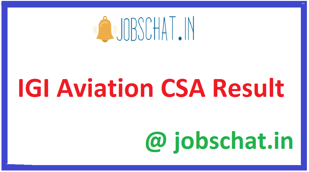 IGI Aviation CSA Result