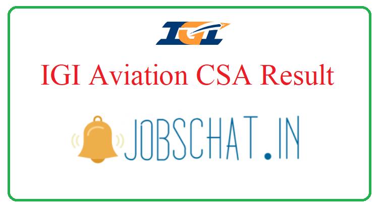 IGI Aviation CSA Result