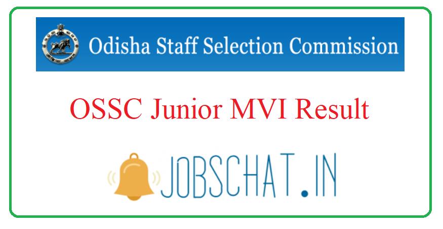 OSSC Junior MVI Result