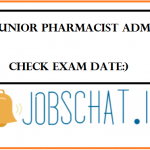 UPMSCL Junior Pharmacist Admit Card
