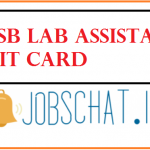 HPSSSB Lab Assistant Admit Card