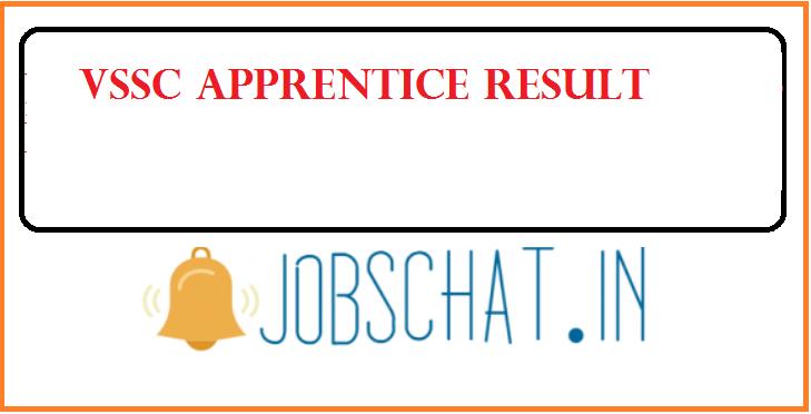 VSSC Apprentice Result