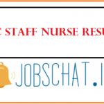 KMC Staff Nurse Result