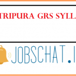 RDD Tripura GRS Syllabus