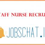 HSSC Staff Nurse Recruitment