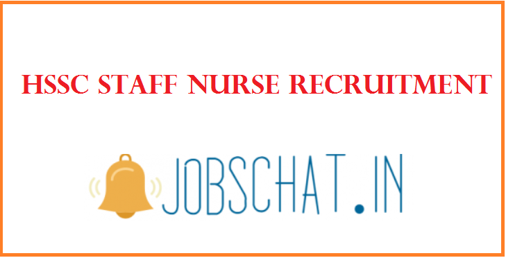 HSSC Staff Nurse Recruitment
