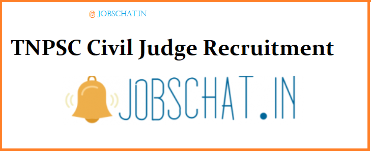 TNPSC Civil Judge Recruitment