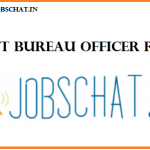 JSSC Assistant Bureau Officer Recruitment