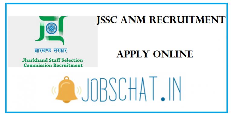 JSSC ANM Recruitment