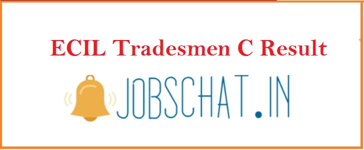 ECIL Tradesmen C Result 2019