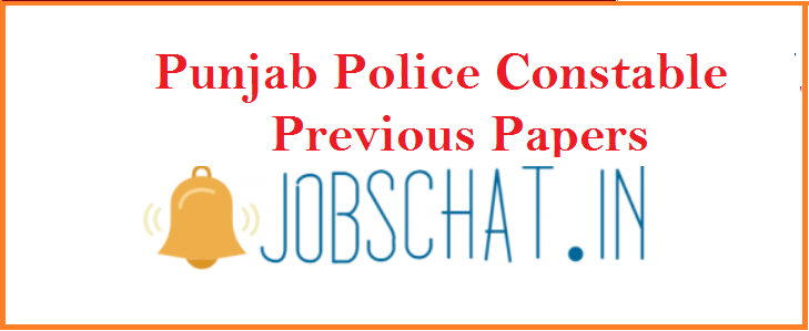 Punjab Police Constable Previous Papers