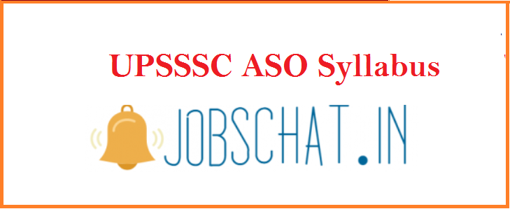 UPSSSC ASO Syllabus 2019