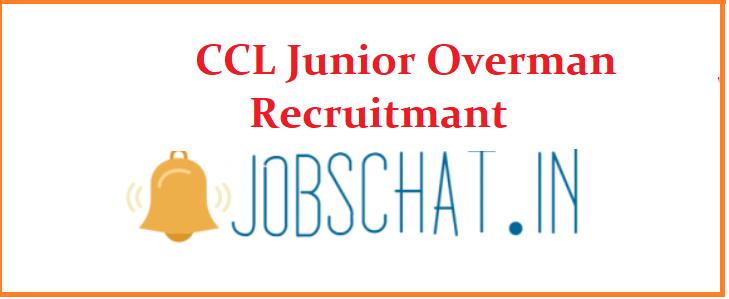 CCL Junior Overman Recruitmant 2019