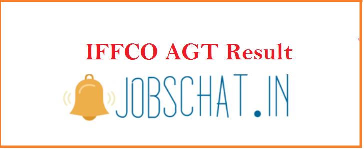 IFFCO AGT Result 2019