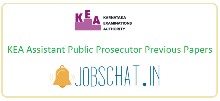 KEA Assistant Public Prosecutor Previous Papers