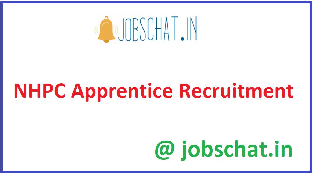 NHPC Apprentice Recruitment