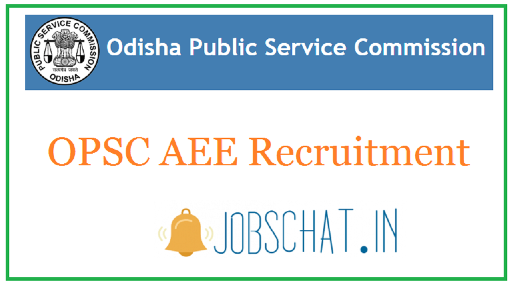 OPSC AEE Recruitment