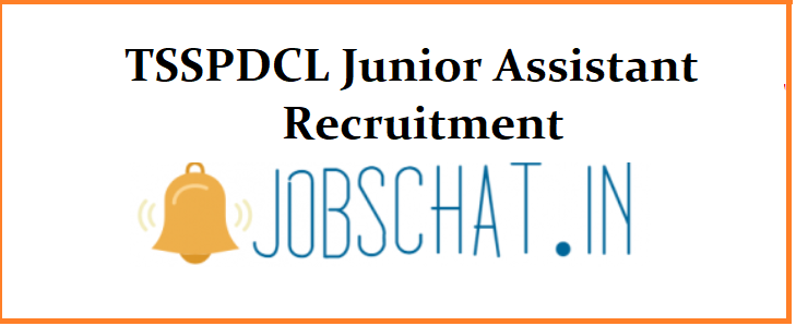 TSSPDCL Junior Assistant Recruitment 2019
