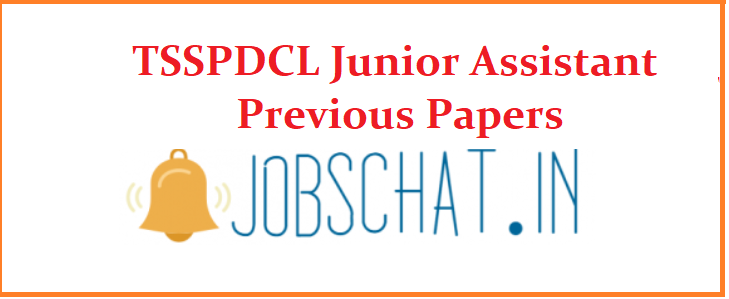 TSSPDCL Junior Assistant Previous Papers