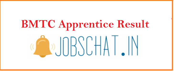 BMTC Apprentice Result 2019