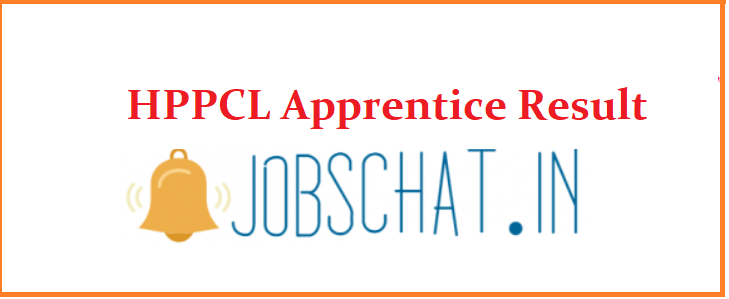 HPPCL Apprentice Result 2019