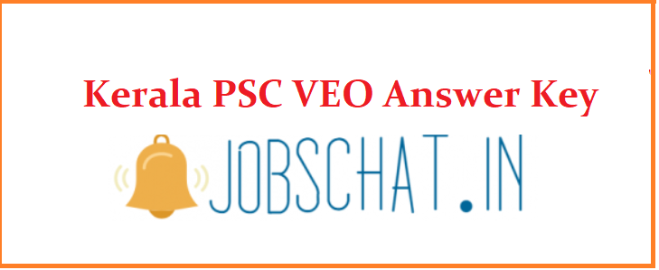 Kerala PSC VEO Answer Key