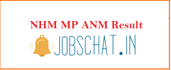 NHM MP ANM Result 2019