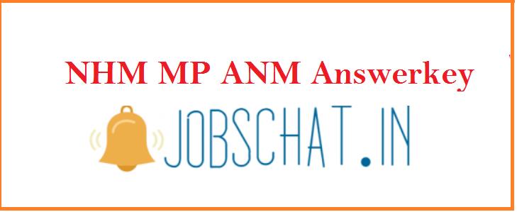 NHM MP ANM Answerkey 2019