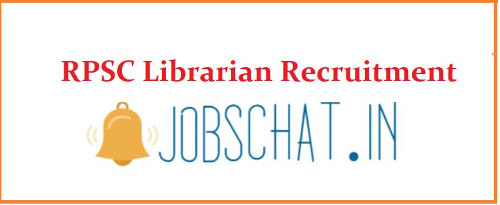 RPSC Librarian Recruitment