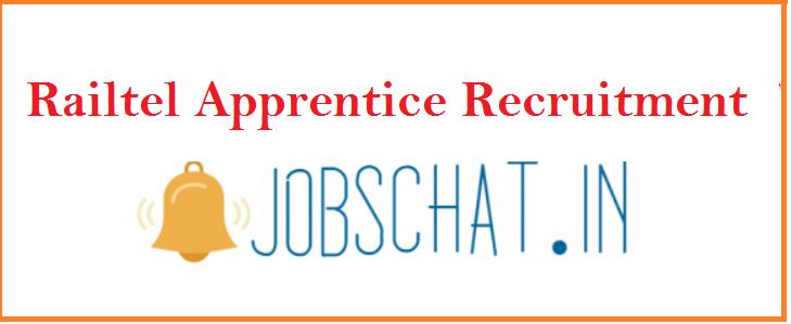 Railtel Apprentice Recruitment 2019