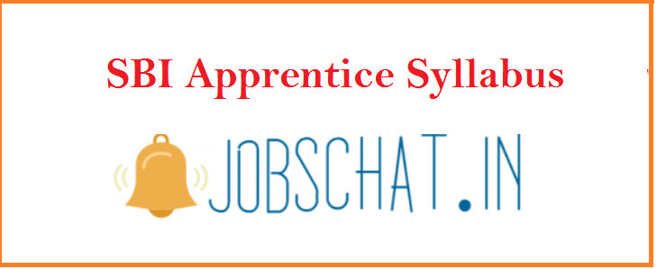 SBI Apprentice Syllabus 2019