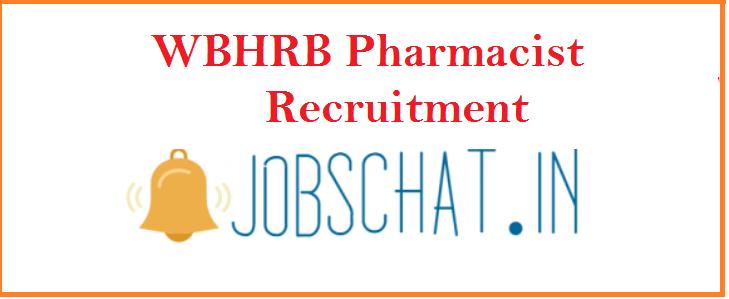 WBHRB Pharmacist Recruitment 2019