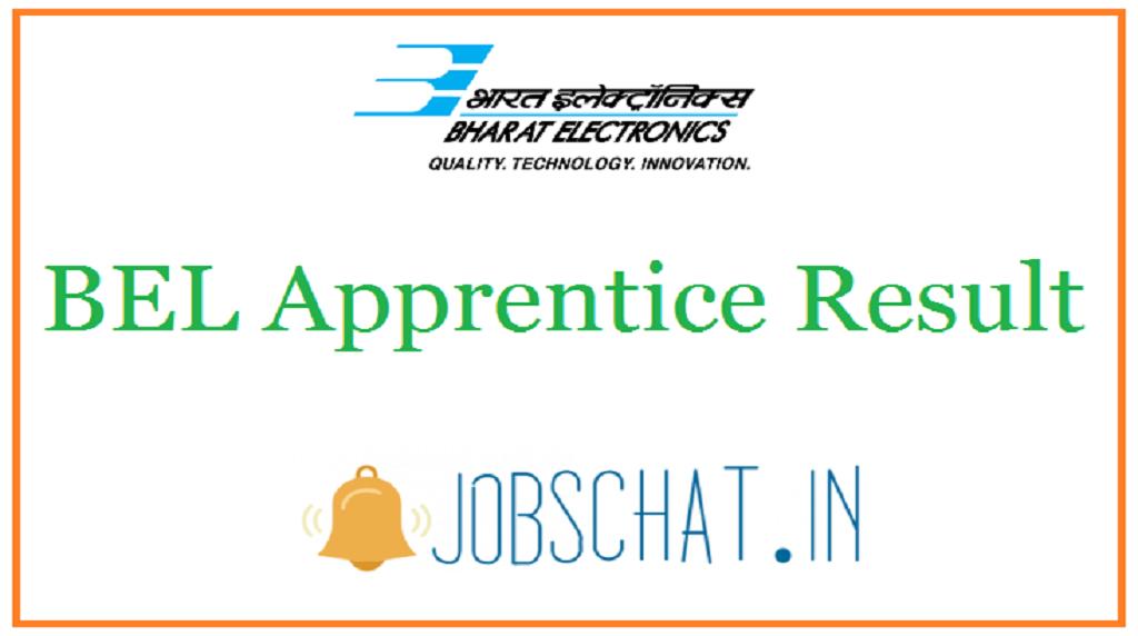 BEL Apprentice Result