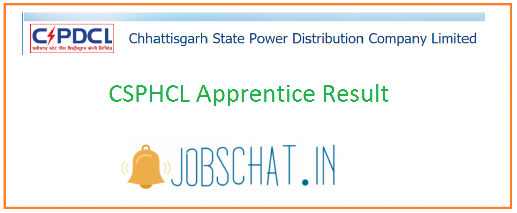 CSPHCL Apprentice Result