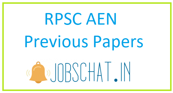 RPSC AEN Previous Papers