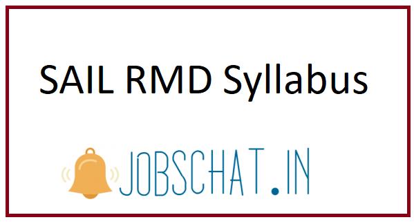 SAIL RMD Syllabus